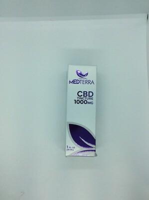 MEDTERRA CBD TINC 1000MG 30ML