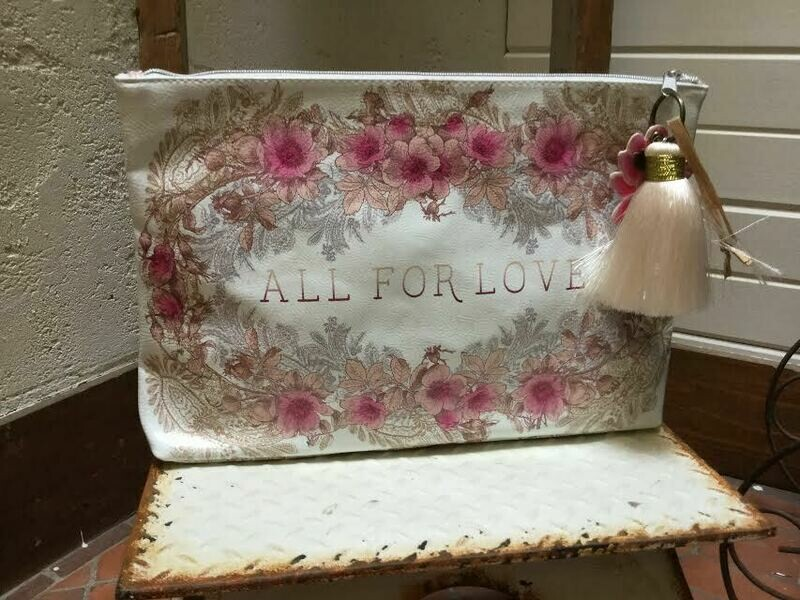 Papaya APL0051 LG Tassel Pouch All for Love