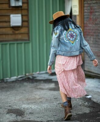 Nostalgia Gypsy Jean Jacket