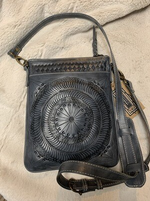 Leaders in Leather Char Cross Body
