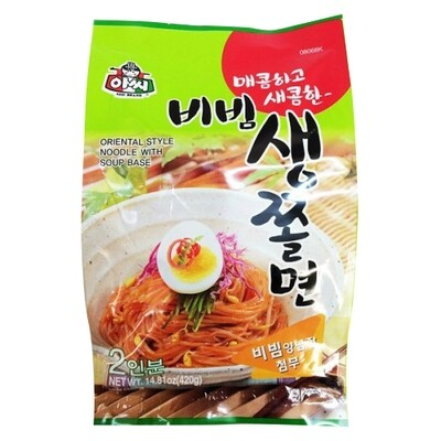 Assi Chewy Noodle with Spicy Sauce 420g