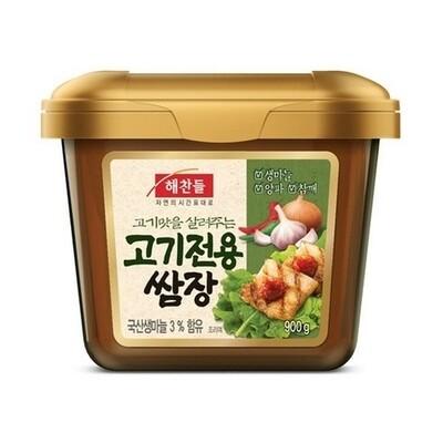 CJ Seasoned Soybean Paste 900g BBQ