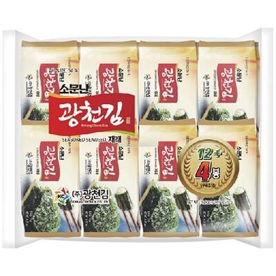 Kwangcheon Seasoned Seaweed for Lunchbox 5g*16