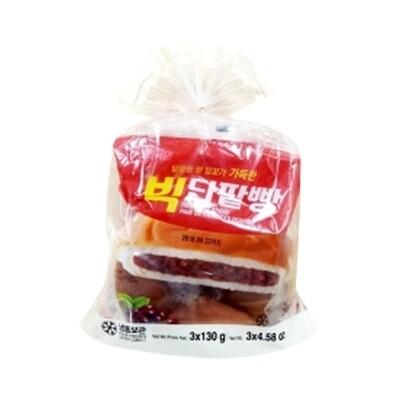 Frozen Baked Red Bean Bread 130g*3