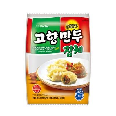 HT Vegetable Dumpling Jabchae 450g