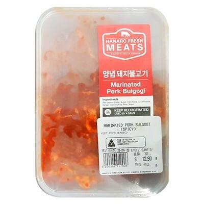 Marinated Spicy Pork Bulgogi 700g