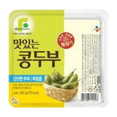 CJ Soybean Tofu For Stir-Fry 300g