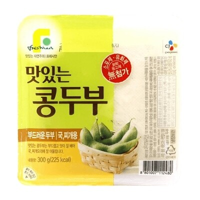 CJ Soybean Tofu For Stew 300g