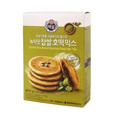 CJ Green Tea Korean Pan Cake Mix 400g