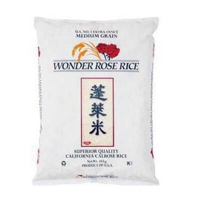 Wonder Rose Calrose Rice 10kg