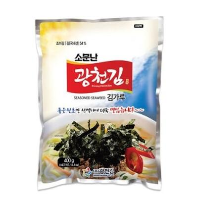 Kwangcheon Seasoned Seaweed for Toppig 400g