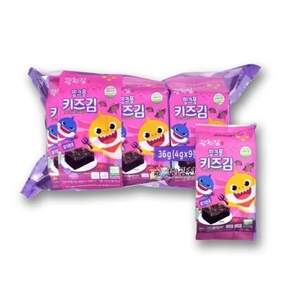 Kwangcheon Organic Kids Crispy Seaweed (4g*9)