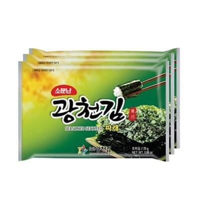 KCH Roasted Seaweed 3pk