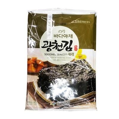 Kwangcheon Seasoned Seaweed Uncut 25g*3