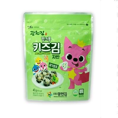 Kwangcheon Organic Kids Crispy Seaweed Flakes 40g