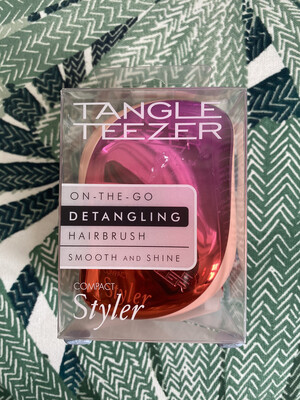 Tangle Teezer Compact Styler Pink