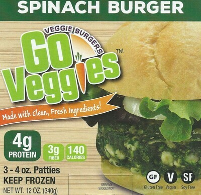 Spinach Burger