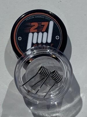 27 Coils Fused