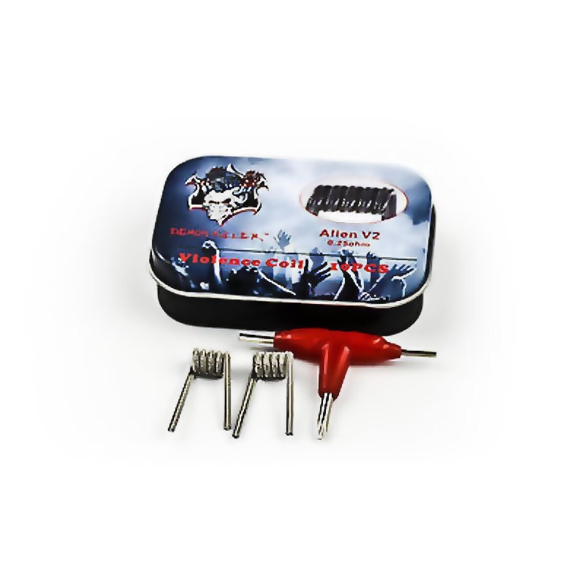 Demon Killer Violence Prebuilt Coils 10pcs/Box