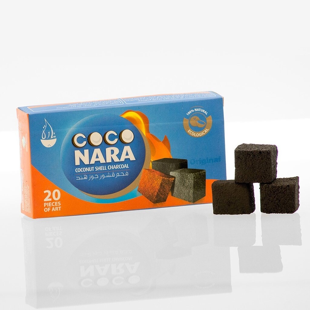 Coco Nara Hookah Charcoal 20pc