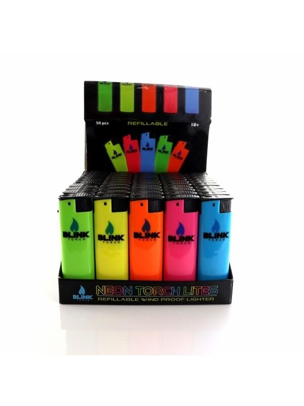 Blink Windproof Neon Torch Lighter