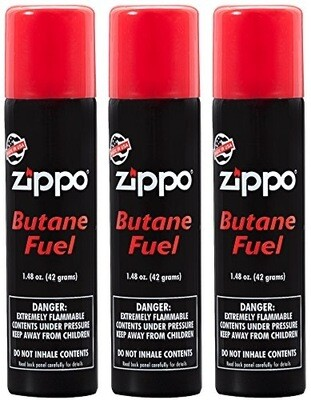 Butane Fuel Zippo 1.48oz