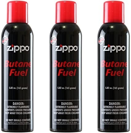 Butane Fuel Zippo 5.82oz