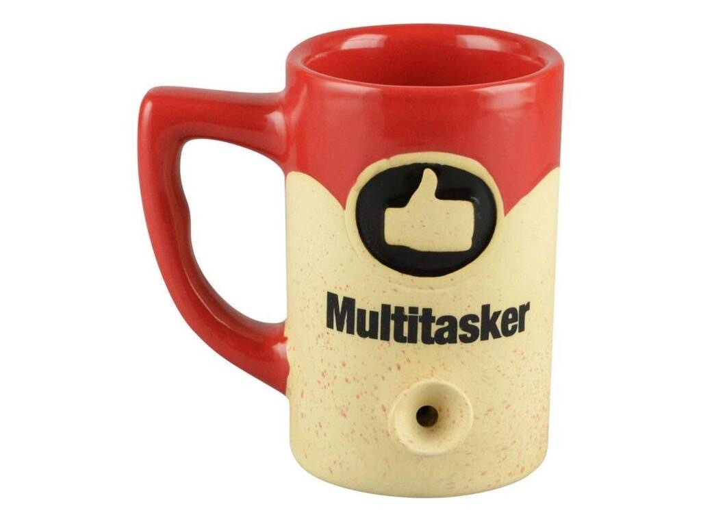 Ceramic Water Pipe Mug 8oz/Multitasker