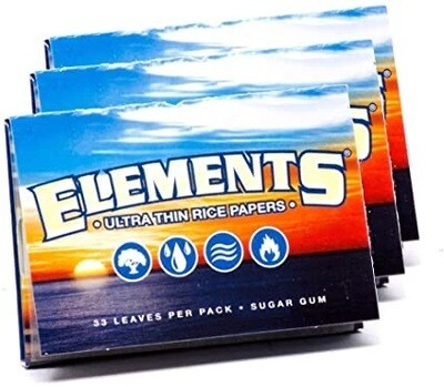 Element 1 1/2 Ultra Thin Rice Rolling Papers