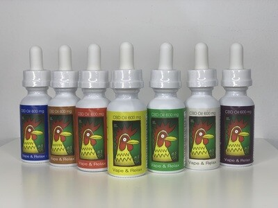 El Gallo 600mg Vape Oil 30ml