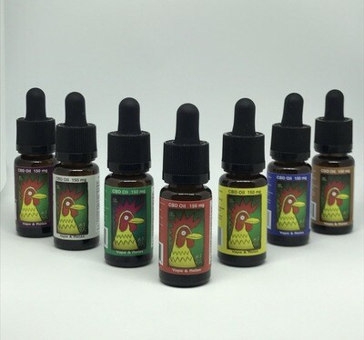 El Gallo 150mg Vape Oil 15ml