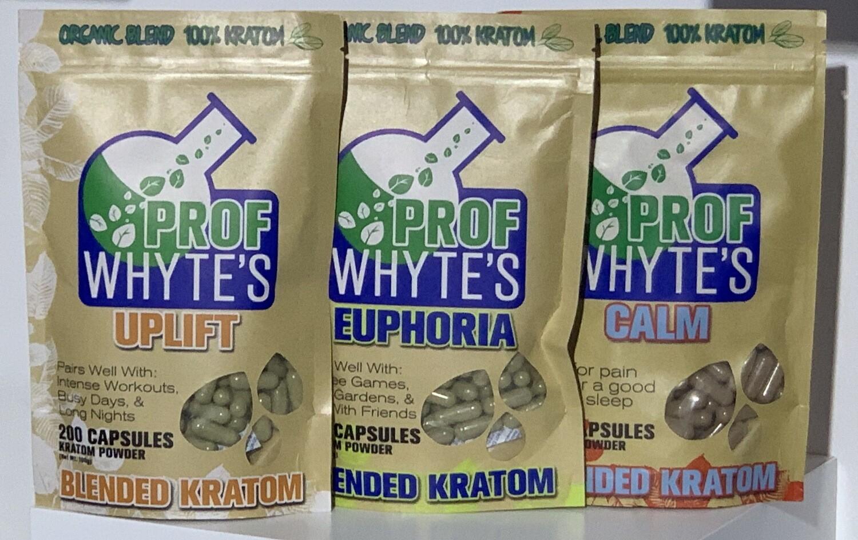 Prof Whytes 200ct Kratom Capsules