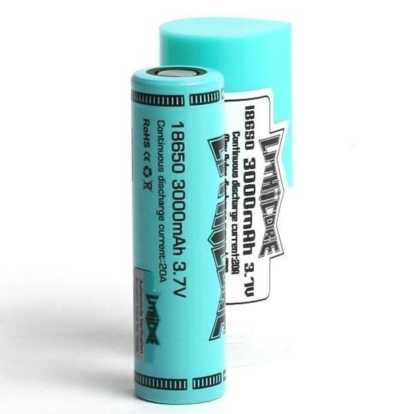 Lithicore 18650 Battery 3000mah 3.7V