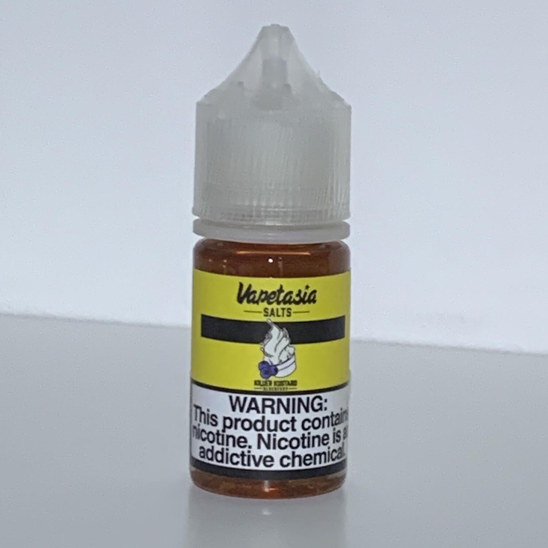 Killer Kustard Blueberrie Salt Nic Vapetasia