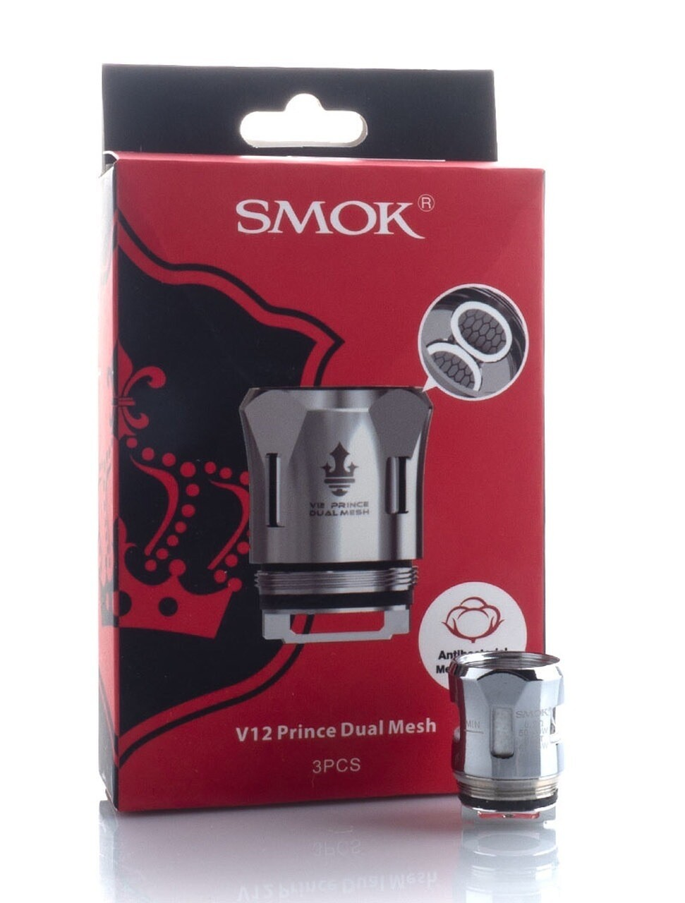 Smok V12 Prince Dual Mesh Coil .2ohm