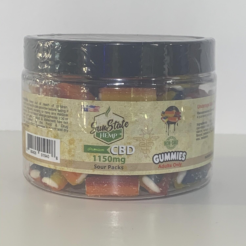 Sunstate CBD Gummies 1150mg