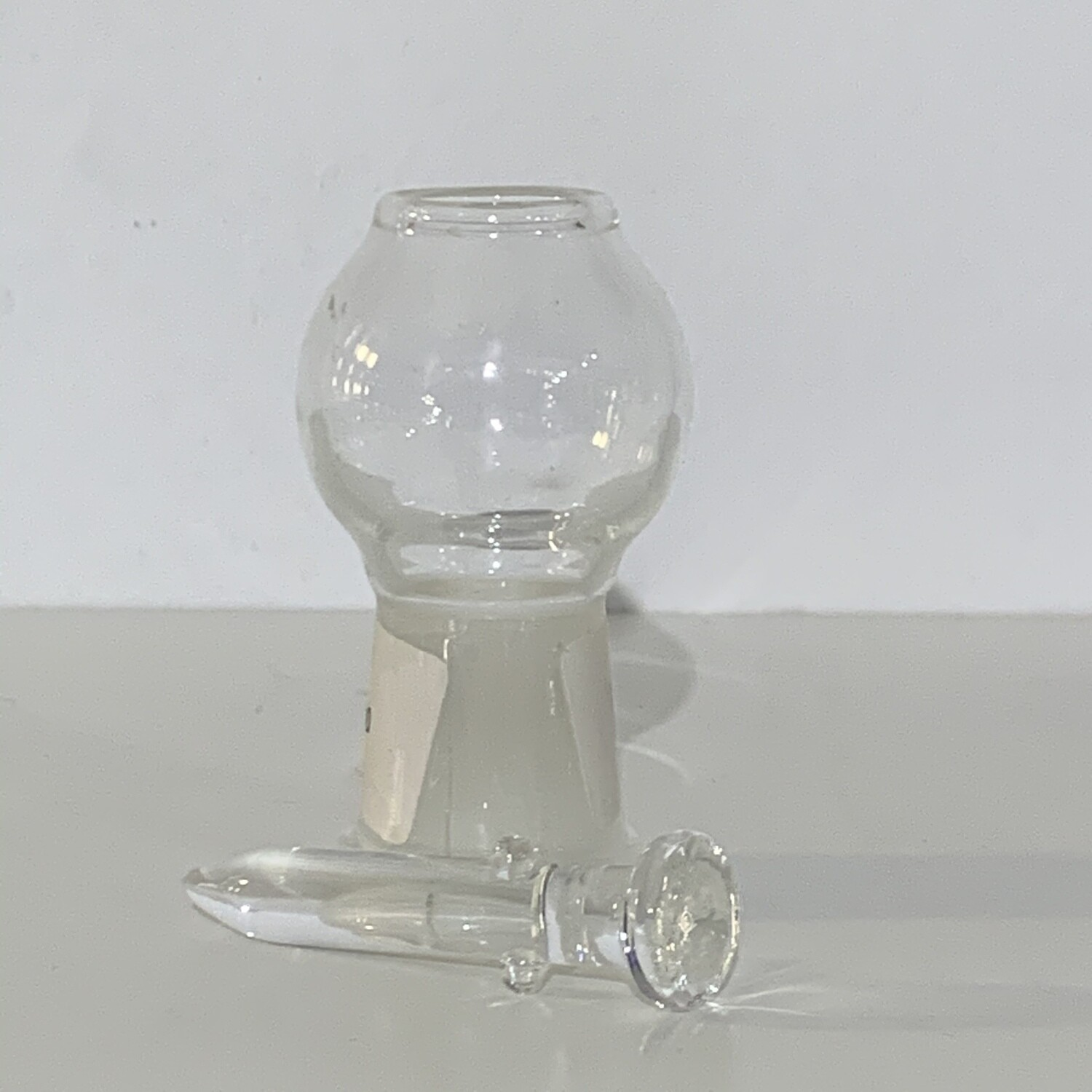 Glass Dome And Nail 18mm