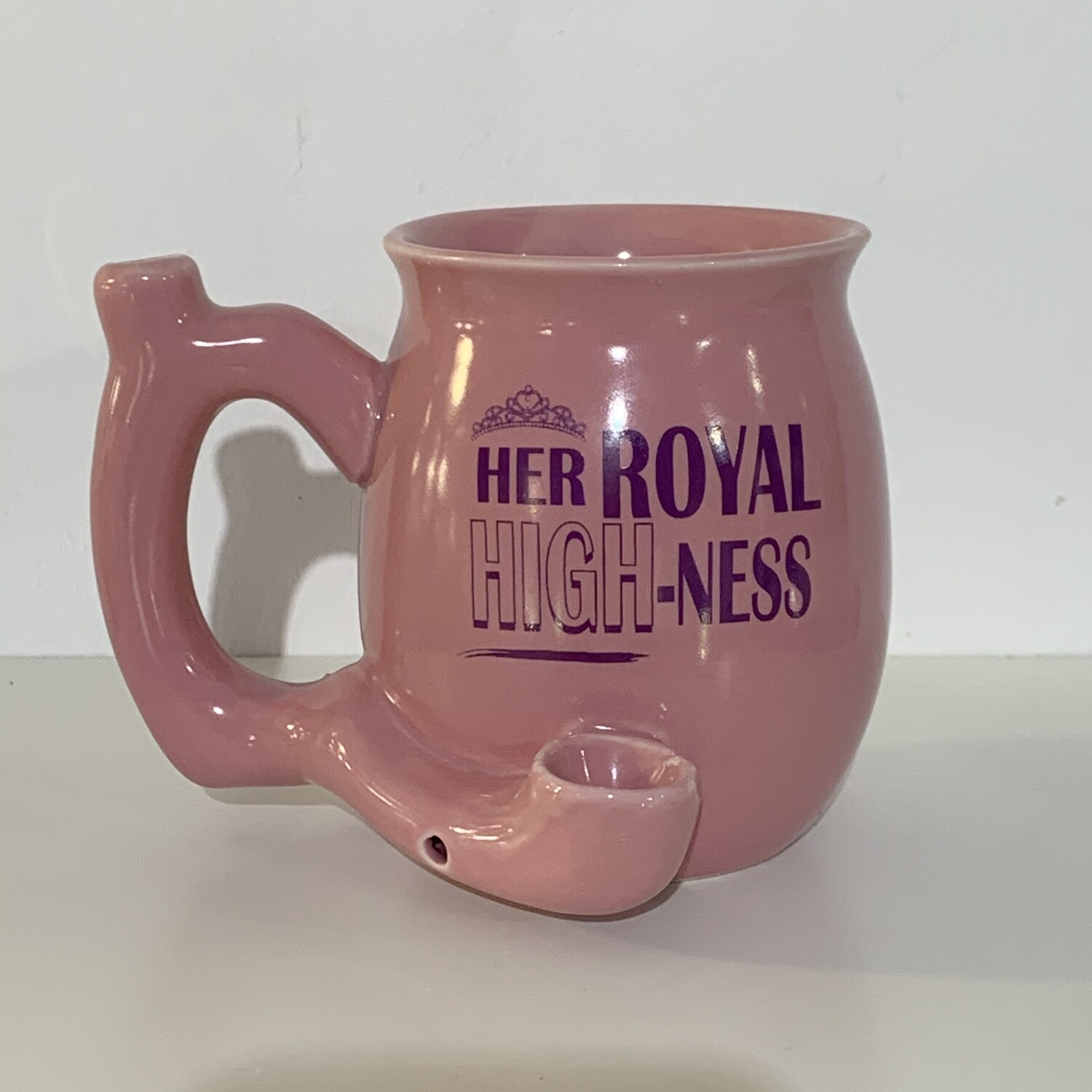 Roast & Toast Her Royal HIGH-Ness Ceramic Pipe Bowl
