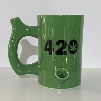 Roast & Toast Mug Pipe 10oz/420 Green