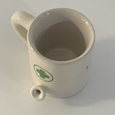 Mini Medical Wake & Bake Mug Pipe 2oz
