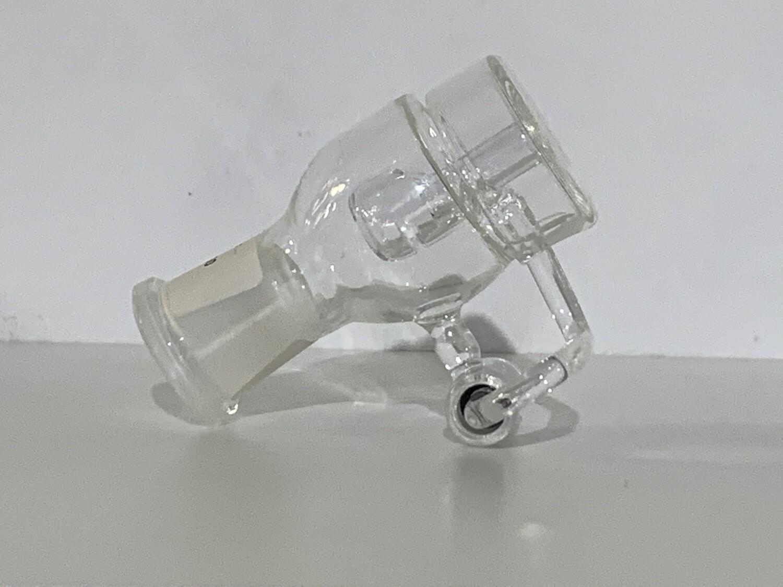 Quartz Honey Bucket/Female Joint/Carb Cap