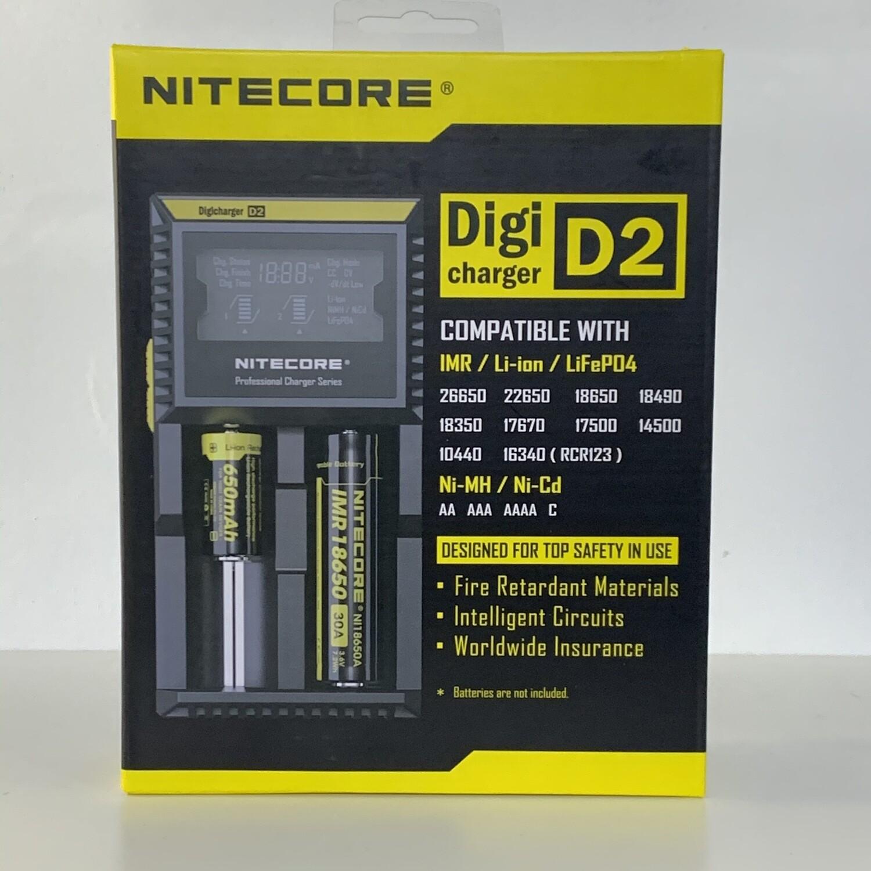 Nitecore D2 Universal Charger