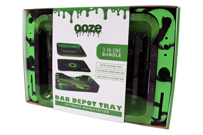 Ooze Dab Depot Tray 3 In 1 Bundle