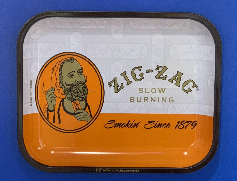 Zig Zag Slow Bur Ing Rolling Tray Large