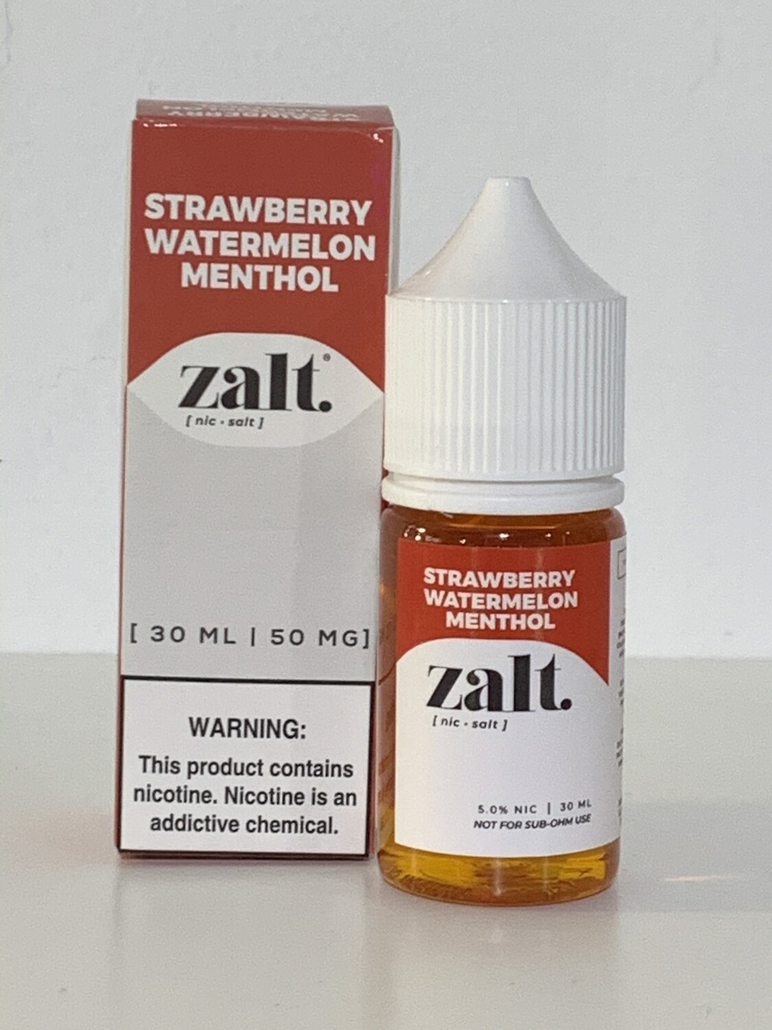 Zalt 50mg Straw/Wat/Mint 30ml