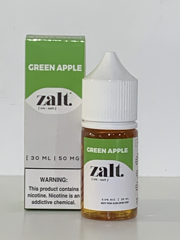 Zalt 50mg Green Apple 30ml