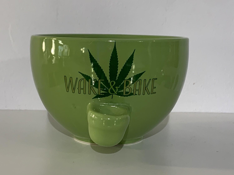 Wake & Bake Ceramic Cereal Bowl 10oz