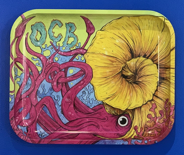 OCB Limited Edition Metal Rolling Ray Cephalopod