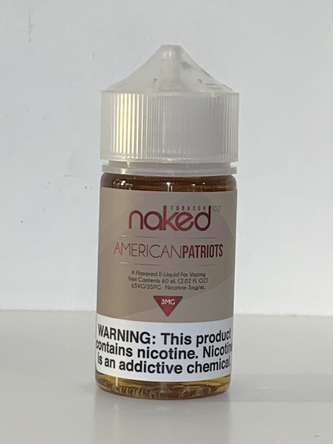 Naked100 Tobacco American Patriots 60ml