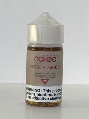 Naked100 Tobacco American Patriots 60ml